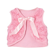 Girls Rosette Shrug Vest