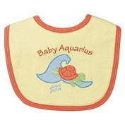 I Play Organic Cotton Zodiac Bib