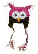 Owl Beanie Knitted Hat - For Baby & Toddler - Multiple Colours