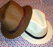 "Sun Hat _""Straw"" Hat ""Fedora"""