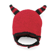 San Diego Hat Company Chenille Devil Hat, Red