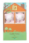 Angel Dear Blankie Cuddle Twin Set - Pink Lamb