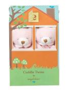 Angel Dear Blankie Cuddle Twin Set - Pink Bear
