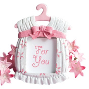 Cute baby themed photo frame favours - girl
