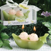 Fashioncraft Two Peas In A Pod Collection Candle