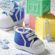 Blue Baby Bootie-Sneaker Design Candle