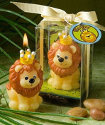 Adorable King Of The Jungle Collection Candle Favours