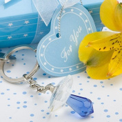 Choice Crystal Collection Pacifier Key Chains - Boy