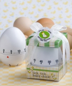 """Egg stra"" special baby themed egg timer favours"