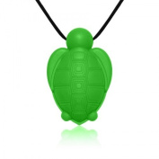 Siliconies Turtle Pendant - Silicone Necklace (Teething/Nursing/Sensory)