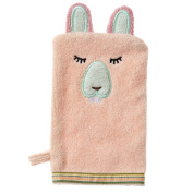 Bath Mitt - Busy Beaver - Woodland Collection