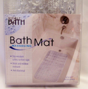 Totally Bath Massaging Bath Mat - Clear 79cm x 37cm