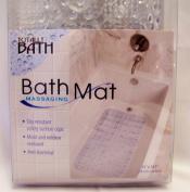 Totally Bath Massaging Bath Mat - Clear 79cm x 37cm