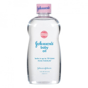 Johnson & Johnson 003314 Baby Oil 14 Oz. Skin Care Toiletries