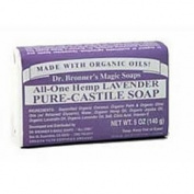 Bar Soap, Organic, Lavender, 150ml