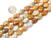 "Sweet & Happy Girl'S Store 10X14mm Oval Gemstone Crazy Lace Agate Beads Strand 15"" Jewellery Making Beads"