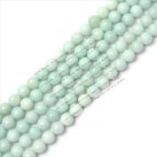 "Sweet & Happy Girl'S Store 8Mm Round Faceted Amazonite Gemstone Beads Strand 15""Jewellery Making Beads"