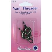 Hemline Needle Threader for Yarn, pk of 2