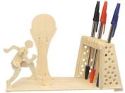 Football Pen-Holder - Woodcraft Construction Kit