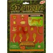Plastic Model Kit : Cheetah 4D / 3D Puzzle [Toy]