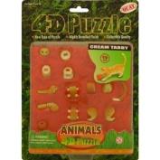 Plastic Model Kit : Tabby Cat 4d /3d puzzle [Toy]
