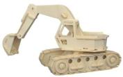 Excavator - Woodcraft Construction Kit