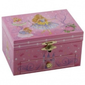 Musical Princess Jewellery Box Oblong shape with Drawer