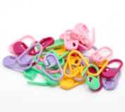 Approx. 40Pcs Knitting Crochet Locking Stitch Markers / Can Also Be Used as A Nappy Pin on A New Baby Greeting Card