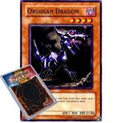 Yu-Gi-Oh : PTDN-EN023 Unlimited Edition Obsidian Dragon Common Card -