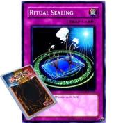 Yu-Gi-Oh : STON-EN056 Unlimited Ed Ritual Sealing Common Card -