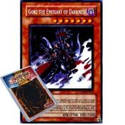 YuGiOh : RP02-EN000 Unlimited Ed Gorz The Emissary Of Darkness Secret Rare Card -