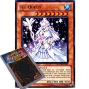 YuGiOh : LCGX-EN207 1st Ed Ice Queen Ultra Rare Card -