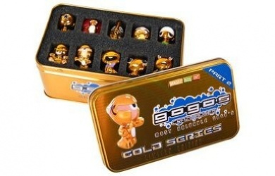Gogo's Crazy Bones Gold Series Tin Part 2