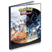 Pokemon Black White 9 Pocket Portfolio Reshiram vs. Zekrom