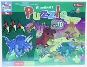 Dinosaur Jigsaw Puzzle 3D