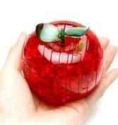 PicknBuy 3D Crystal Apple Jigsaw Puzzle IQ Toy Model Decoration
