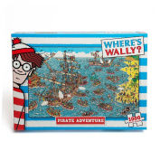 Where's Wally Puzzle Pirate Adventure