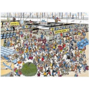 Jumbo Puzzle - Jan van Haasteren - Departure Hall
