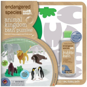 Endangered Species by Sud Smart Animal Kingdom Bath Puzzles [Baby Product]
