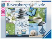 Ravensburger 1000 pieces puzzle - Pure relaxation