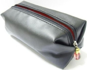 100% Polyester Stylish Compact Black Cosmetic/Make-Up Bag 160 x 65 x 65