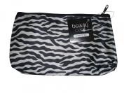 COSMETIC BAG - MAKE UP BAG - ZEBRA PRINT - MEDIUM