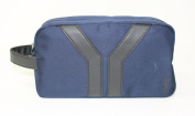 YSL - YVES SAINT LAURENT BLUE TROUSSE/POUCH/WASH BAG * NEW
