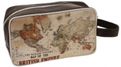 British Empire Map Gents Washbag / Wash Bag by Harvey Makin