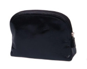 Sage Brown Genuine Leather Toiletry Bag