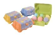 Assorted Mini Eggs Bath Fizzers Bombs 6 x 55g