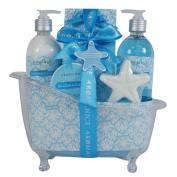 Bath Gift Set SeaCoralCotton