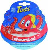 Single Sachet Red Bubble Bath Foaming Coloured Fun 20ml - TINTI Schaumbad