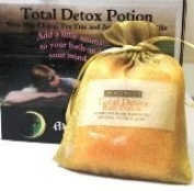 Dead Sea Salts Total Detox Bath Potion with May Chang, Tea Tree & Juniper Add a little aromatic magic to your bath and enchant your mind & body with these heavenly fragrances. 200gm
