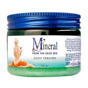Mineral Line - Dead Sea, Body Peeling Scrub - Eucalyptus, 500 gr / 520ml